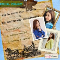 [PROJECT]  Kim So Eun's 25th Birthday & 1st Anniversary KimsoeunINA